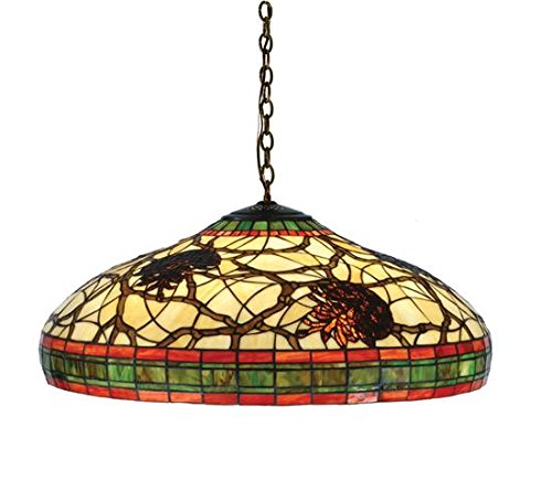 Light Pendant 2 Pinecone (Meyda Tiffany 77981 Pinecone Pendant, 22