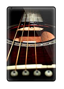 Fashion Protective Black Guitar Cases Covers For Ipad Mini
