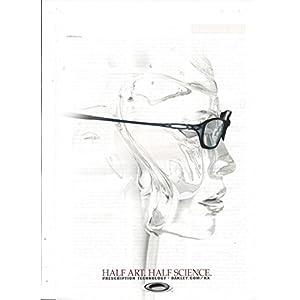PRINT AD For 2002 Oakley Sunglasses Half Art Half Science