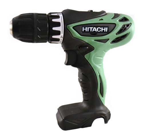 10.8 - 12 Volt Li-ion 3/8-Inch Cordless Drill/Driver (bare tool - no battery, charger or case) - Hitachi DS10DFL