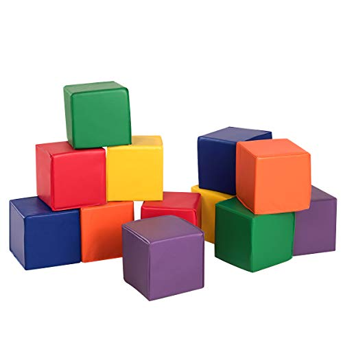 Filled Baby Blocks - Costzon Soft Blocks, 8