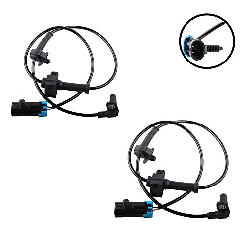 MOSTPLUS 2pcs ABS Wheel Speed Sensor For 07-2012 Chevrolet Avalanche Tahoe ALS1464 Rear ()