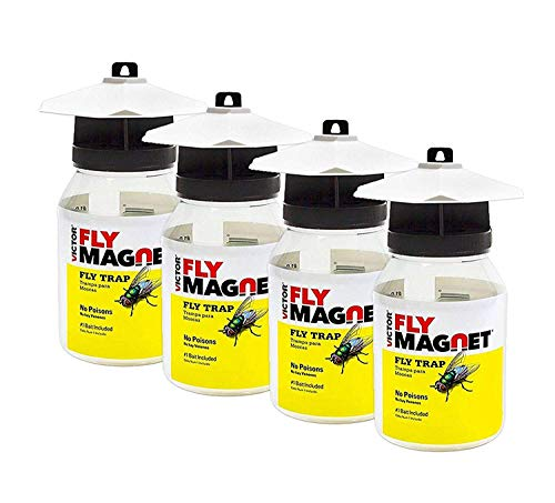 Victor M380 Fly Magnet Reusable Trap with Bait (4) ()