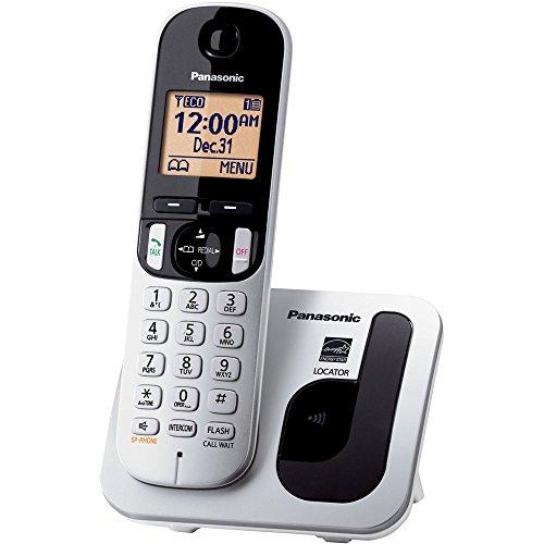 Panasonic-KXTGC210S-DECT-60-1-Handset-1-Line-Landline-Telephone