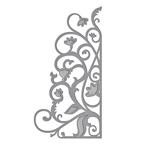 Spellbinders S2-006 Die D-Lites Garden Weave Etched/Wafer Thin ()