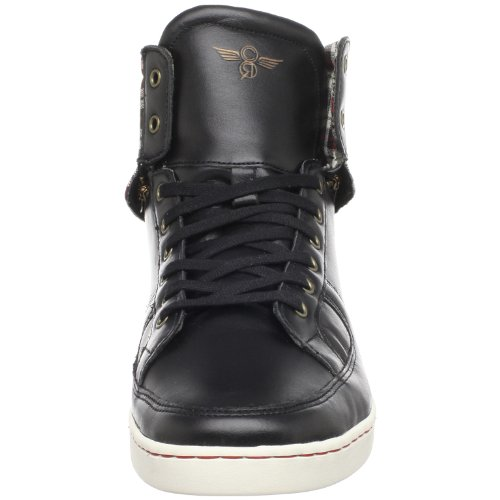 Kreativa Rekreation Mens Solano High Top Sneaker Svart Vintage