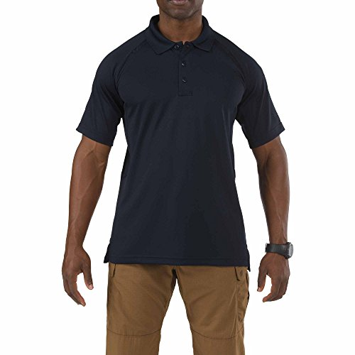 Price comparison product image 5.11 Performance Polo Short Sleeve Shirt, Dark Navy, 2X-Large