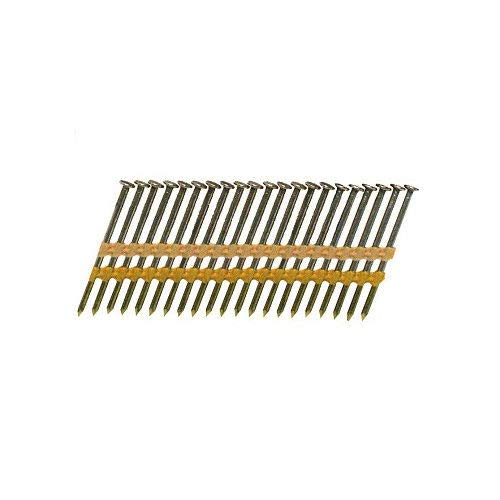 Bostitch RH-S12D120EP 3-1/4-in x 0.120-in 21 Degree Plastic Collated Smooth Shank Stick Framing Nails (4,000 pk)