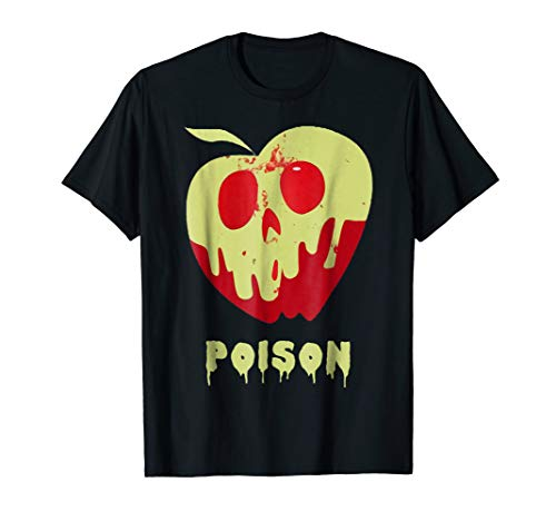 Poison Apple Snow White Princess Halloween Costume Shirt ()