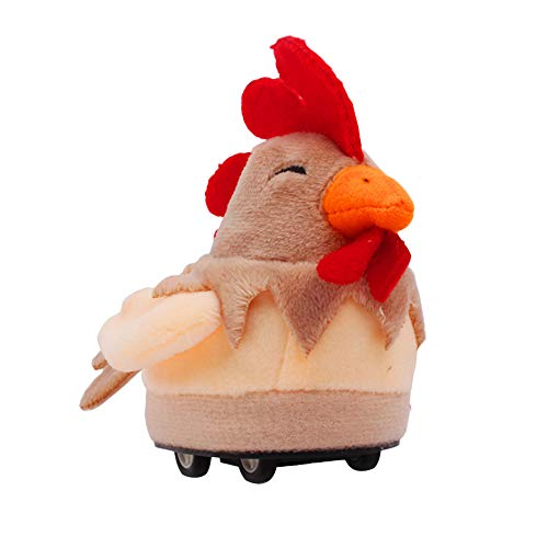 Remote Control Simulation Plush Cock Electric Infrared Sensor for Kids Gift Toy ()