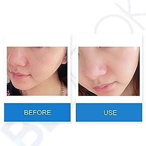 BEDOOK TOPUP Glacier Water Scrub Cream Facial Cleanser Natural Facial Exfoliator Whitening Brightening Peeling Face Scrub (120g)