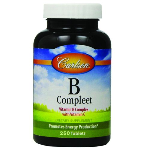 Carlson B Compleet Vitamin Complex Tablets