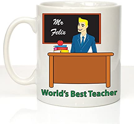Gift Ideas For Teachers Personalised Gifts For Male Teacher Crazy Tonyu0027s Mens Teacher Graduation Mug  sc 1 st  Amazon UK : gift ideas for male teachers - princetonregatta.org