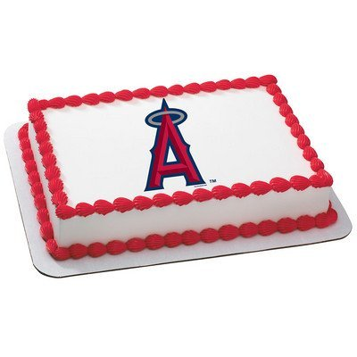 - Anaheim Angels Licensed Edible Cake Topper #4672