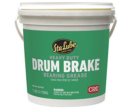 Sta-Lube SL3136 Heavy Duty Drum Brake Wheel Bearing Grease, 7 ()