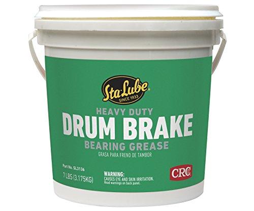 Sta-Lube SL3136 Heavy Duty Drum Brake Wheel Bearing Grease, 7 lbs. - Heavy Duty Brake Drums