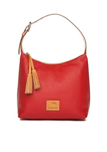 Dooney & Bourke Paige Sac Leather Hobo (Red)