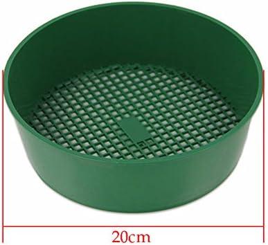 Malla de plástico Jardín tamiz, tamiz de herramientas de jardinería siembra de cultivo para el filtrado de tierra Tierra piedra, pack de 2: Amazon.es: Jardín