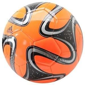 Adidas Glider Balón de Fútbol (Balón Brazuca Réplica Oficial Mundial de Brasil FIFA 2014, talla 5)