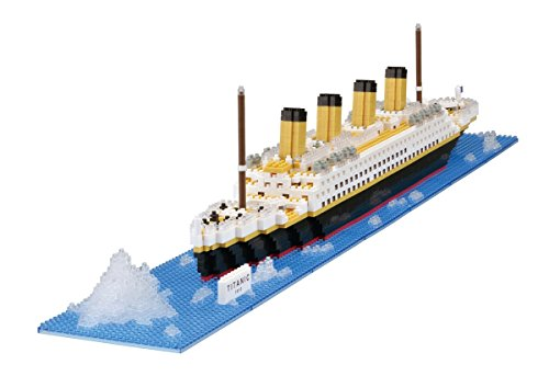 nanoblocks Nb021 Nb - Titanic Building Kit