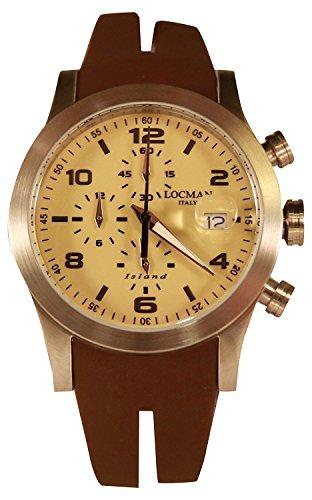 LOCMAN watch ISLAND 0618A04-00SABKSN Men's