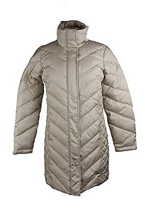 Kennethcole Kenneth Cole Beige Faux-Fur-Trim Chevron Quilted Coat ... : kenneth cole chevron quilted coat - Adamdwight.com