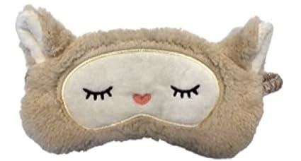 Máscara de peluche para dormir de oveja