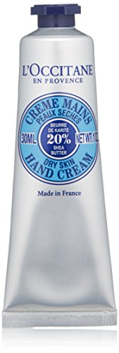 Shea Butter Hand Care (L'Occitane Fast-Absorbing 20% Shea Butter Hand Cream, 1 oz.)