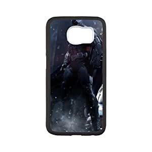 Samsung Galaxy S6 Cell Phone Case Black Batman Game FXS_732742