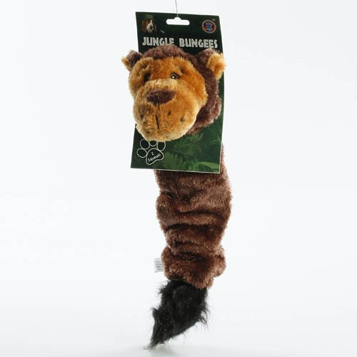 Jungle Bungees Squeaker Toy-Monkey/Tiger(One Per Order)