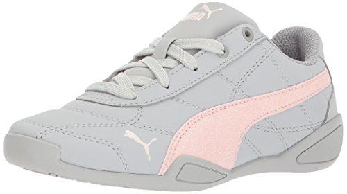 PUMA Girls' Tune Cat 3 Glam Kids Sneaker, Gray Violet-Pearl, 1 M US Little