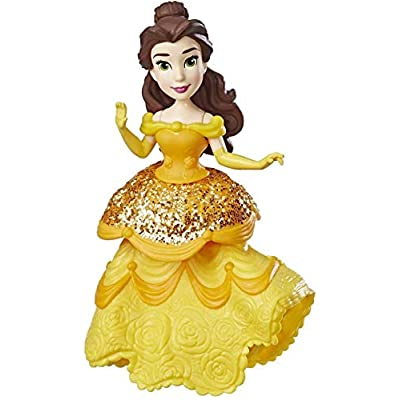 Disney Princess Belle Doll with Royal Clips Fashion, One-Clip Skirt: Toys & Games