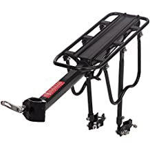 FDW Bicycle Rear Rack Seat Post Mount Pannier Bike Luggage Carrier Shelf