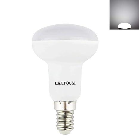 lagpousi 5 W E14 Base R16 R14 no regulable bombilla LED, mini Reflector Luz Bombilla, ...