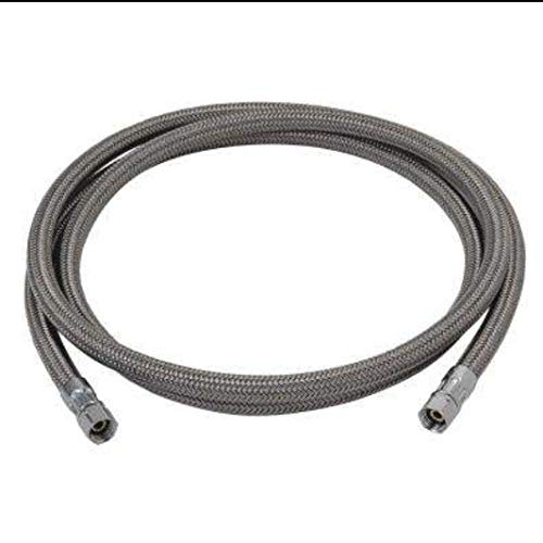 Price comparison product image Peerless Flexible Polymer Braided Connector 1 / 4 in Comp 6FT in Length,  Ice Maker / Humidifier / Water Filter