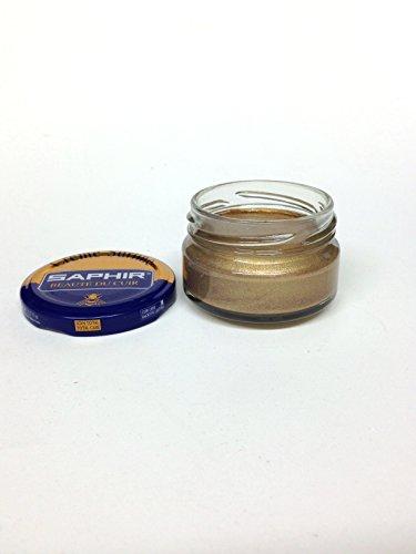 Saphir Shoe Cream Beaute du Cuir Creme Surfine 50ml glass jar (Trianon Gold)