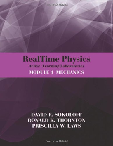 RealTime Physics Active Learning Laboratories, Module 1: Mechanics