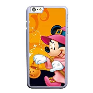 Generic Fashion Hard Back Case Cover Fit for iPhone 6 6S 4.7 inch Cell Phone Case white mickey mouse with Free Tempered Glass Screen Protector SEU-4114679