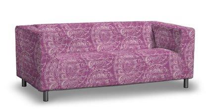 Funda para IKEA KLIPPAN 2 sofá de tela en rosa: Amazon.es: Hogar