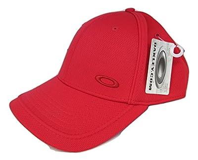Oakley Men's Sport Flex Fit Hat Cap - Brigade Red