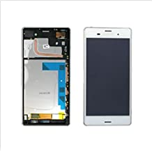 For Sony Xperia Z3 D6603 D6643 D6653 LCD Screen + Touch Digitizer + Frame~White