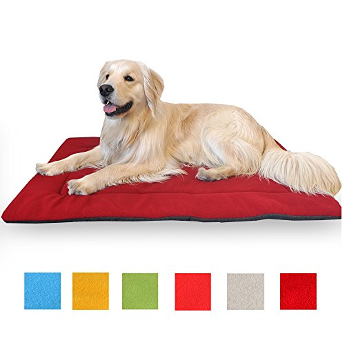 Downtown Pet Supply Comfort Large Maroon