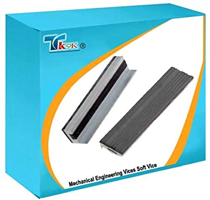 Rubber Grips 100mm Magnetic Soft Vice Jaws DIY Engineers Vice