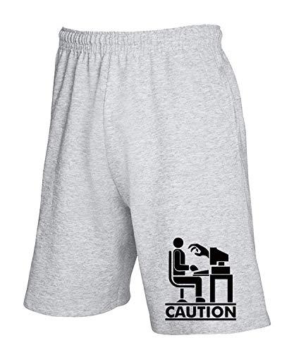 Tuta Coution Fun3777 Pantaloncini shirtshock T Grigio 6wEvgX4q