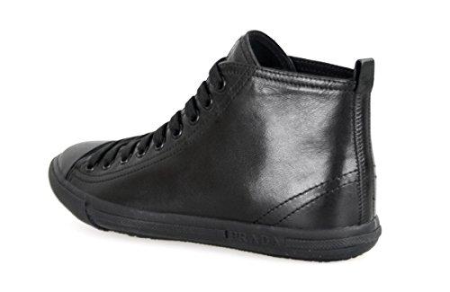 Prada Kvinners 3t5731 Skinn Sneaker