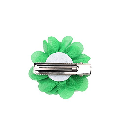 PET SHOW 2'' Plain Flowers Small Dogs Hair Bows With Clips Pet Medium Large Dogs Puppies Girls Cats Hair Clips Grooming Accessories Party Costumes Pack of 16 by PET SHOW (Image #3)