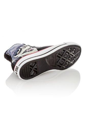 Converse - Zapatillas de caña alta de lona unisex negro - Gorillaz Black