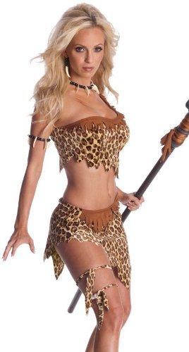 Secret Wishes Womens Tarzan Jungle Jane Costume, Leopard, Medium