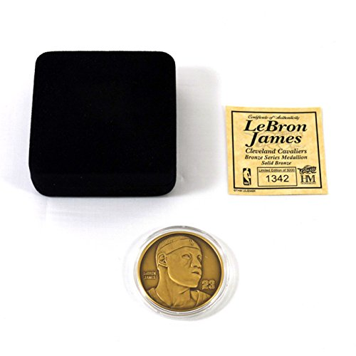 Highland Mint LeBron James Bronze Coin # out of 5,000 (Highland Mint Coins)