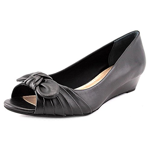 Giani Bernini Womens Singa Peep Toe Pumps Nere